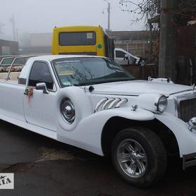 Excalibur Cabriolet - авто на свадьбу в Одессе - портфолио 1