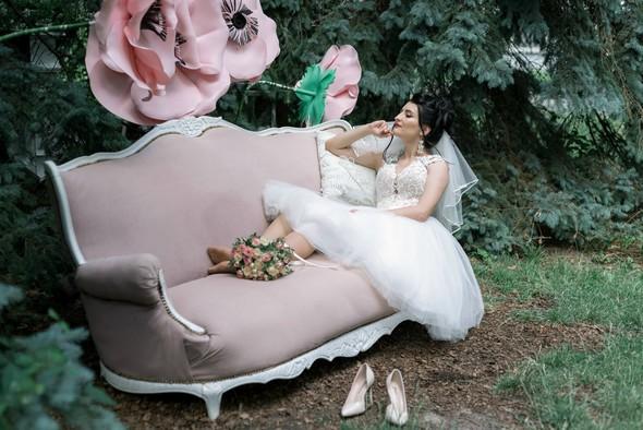 Свадебная фотосессия в студии Play - фото №18