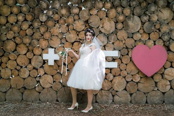 Свадебная фотосессия в студии Play - фото №2