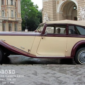 Mercedes Benz Roadster 1938 cabriolet  - портфолио 4