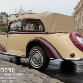 Mercedes Benz Roadster 1938 cabriolet  - портфолио 2