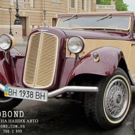 Mercedes Benz Roadster 1938 cabriolet  - портфолио 5