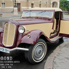 Mercedes Benz Roadster 1938 cabriolet  - портфолио 6