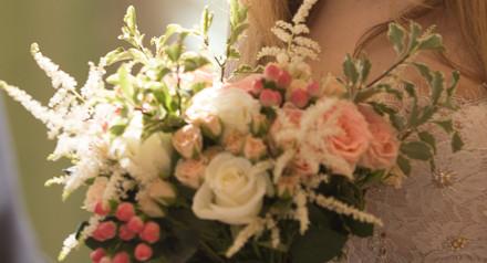 Завершенный свадебный образ