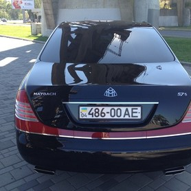 Maybach 57S - авто на свадьбу в Днепре - портфолио 6