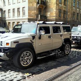 Hummer H2 белый  - портфолио 4