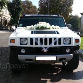 Hummer H2 белый  - портфолио 2