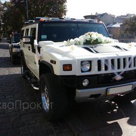 Hummer H2 белый  - портфолио 5