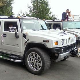 Hummer H2 белый  - портфолио 1