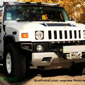 Hummer H2 белый  - портфолио 6