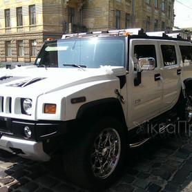 Hummer H2 белый  - портфолио 3