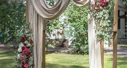 Скидка 30% на оформление свадеб с 20.08 по 26.08.