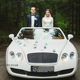 Bentley кабріолет - авто на свадьбу в Черновцах - портфолио 1