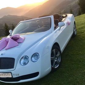 Bentley кабріолет - авто на свадьбу в Черновцах - портфолио 3