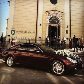 Mercedes CLS350 - авто на свадьбу в Черновцах - портфолио 2