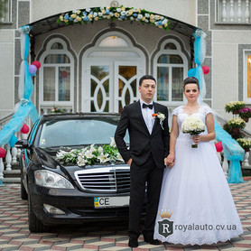 Mercedes S600 221 - авто на свадьбу в Черновцах - портфолио 2