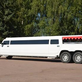 Мега хаммер лимузин с летником  - портфолио 3