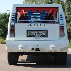 Мега хаммер лимузин с летником  - портфолио 6