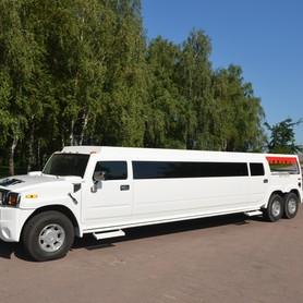 Мега хаммер лимузин с летником  - портфолио 2