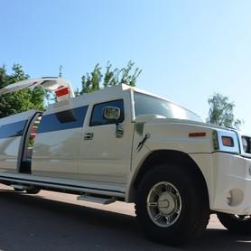 Мега хаммер лимузин с летником  - портфолио 1