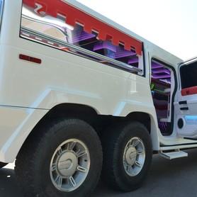Мега хаммер лимузин с летником  - портфолио 5