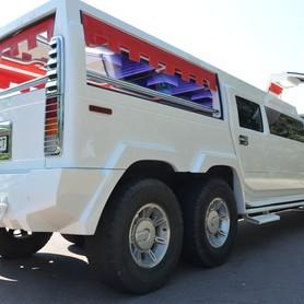 Мега хаммер лимузин с летником  - портфолио 4