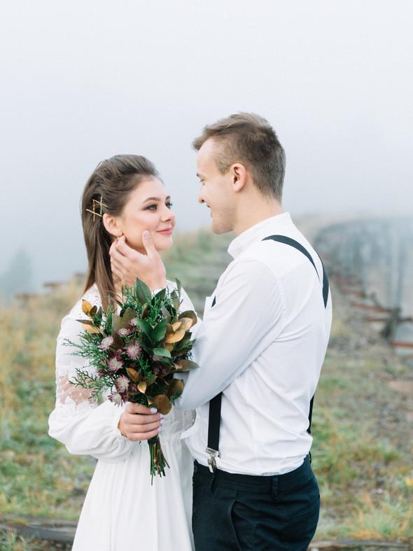 Свадебная фотосессия Ани и Коли  - фото №3