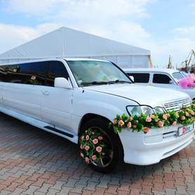 Аренда лимузина LEXUS в Одессе. - авто на свадьбу в Одессе - портфолио 2