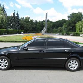Mercedes S500 W220 - авто на свадьбу в Полтаве - портфолио 4