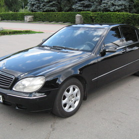 Mercedes S500 W220 - авто на свадьбу в Полтаве - портфолио 2