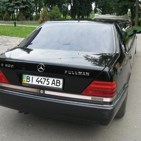 Mercedes S600 PULLMAN - авто на свадьбу в Полтаве - портфолио 3