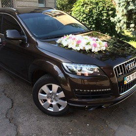 AUDI Q7 - авто на свадьбу в Черкассах - портфолио 2