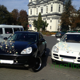 Porsche Cayenne - авто на свадьбу в Ивано-Франковске - портфолио 1