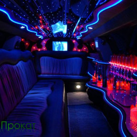 Рожевий Лімузин Крайслер С300 - авто на свадьбу в Ивано-Франковске - портфолио 4