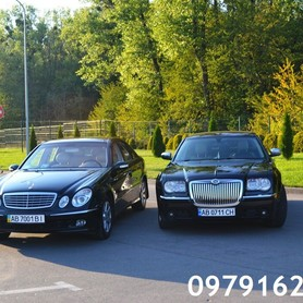 Мерседес 211 - авто на свадьбу в Виннице - портфолио 2