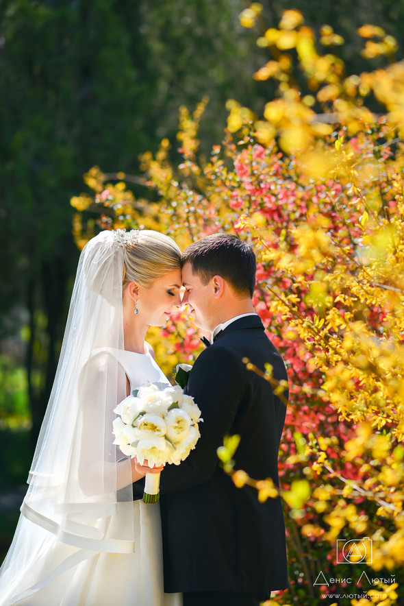 Красивая свадьба в классическом стиле Юлии и Виталия - фото №12