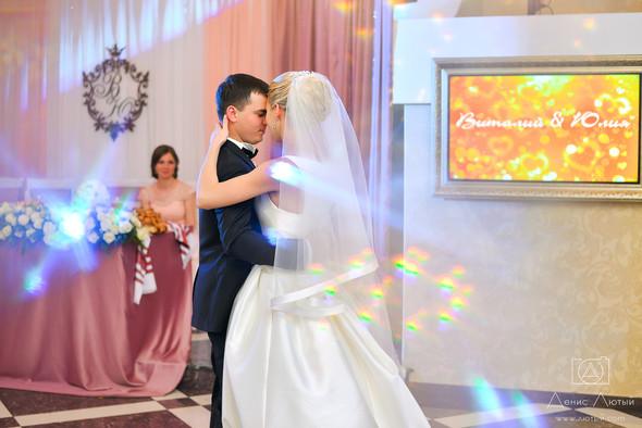 Красивая свадьба в классическом стиле Юлии и Виталия - фото №30