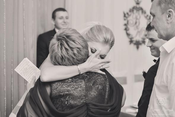 Красивая свадьба в классическом стиле Юлии и Виталия - фото №33