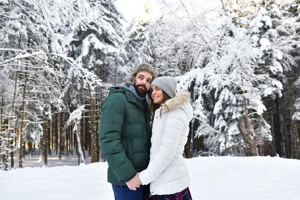 Сказочное Love Story жизнерадостных Тимы и Жени - фото №12