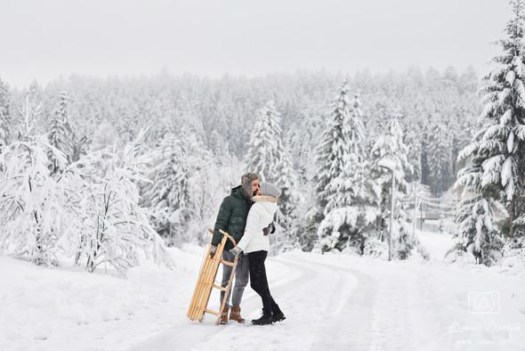 Сказочное Love Story жизнерадостных Тимы и Жени - фото №1