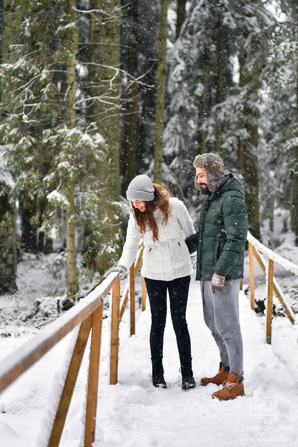 Сказочное Love Story жизнерадостных Тимы и Жени - фото №7