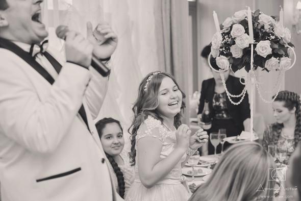 Красивая свадьба в классическом стиле Юлии и Виталия - фото №35