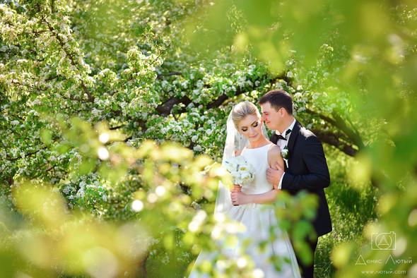 Красивая свадьба в классическом стиле Юлии и Виталия - фото №19