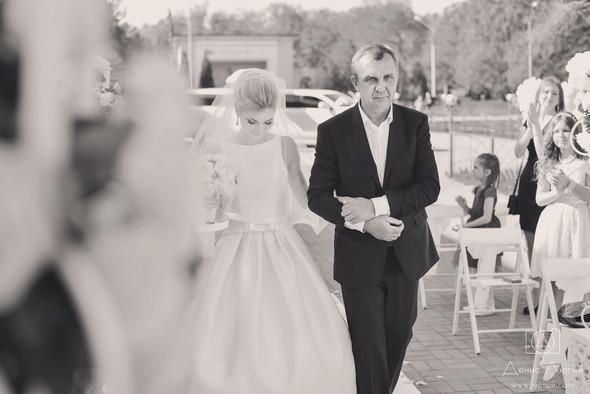 Красивая свадьба в классическом стиле Юлии и Виталия - фото №22