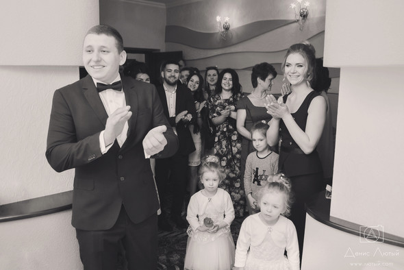 Красивая свадьба в классическом стиле Юлии и Виталия - фото №7