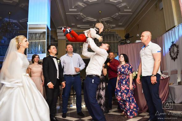 Красивая свадьба в классическом стиле Юлии и Виталия - фото №34