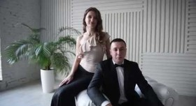 Дуэт ведущих Оксана и Иван - портфолио 1
