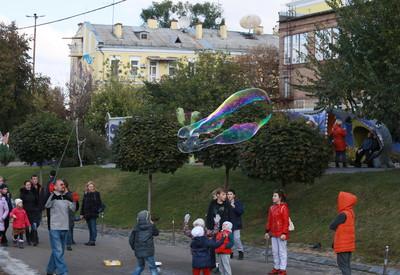 Пейзажная аллея - место для фотосессии в Киеве - портфолио 4