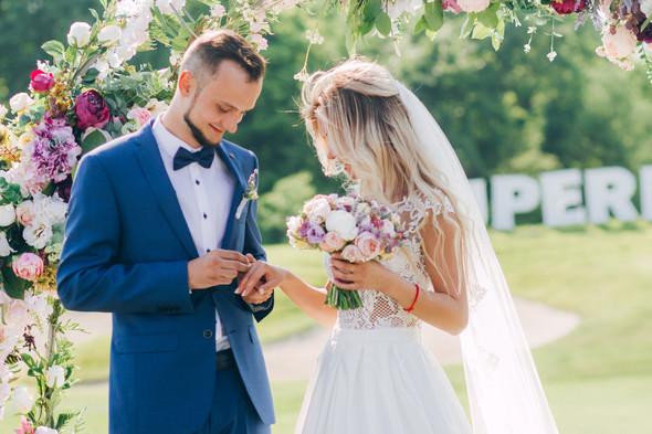 Wedding day M&D - фото №47