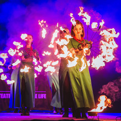 "Театр огня ""Fire Life"" - артист, шоу в Ужгороде - фото 1"